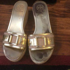 Tory Burch platform shoes